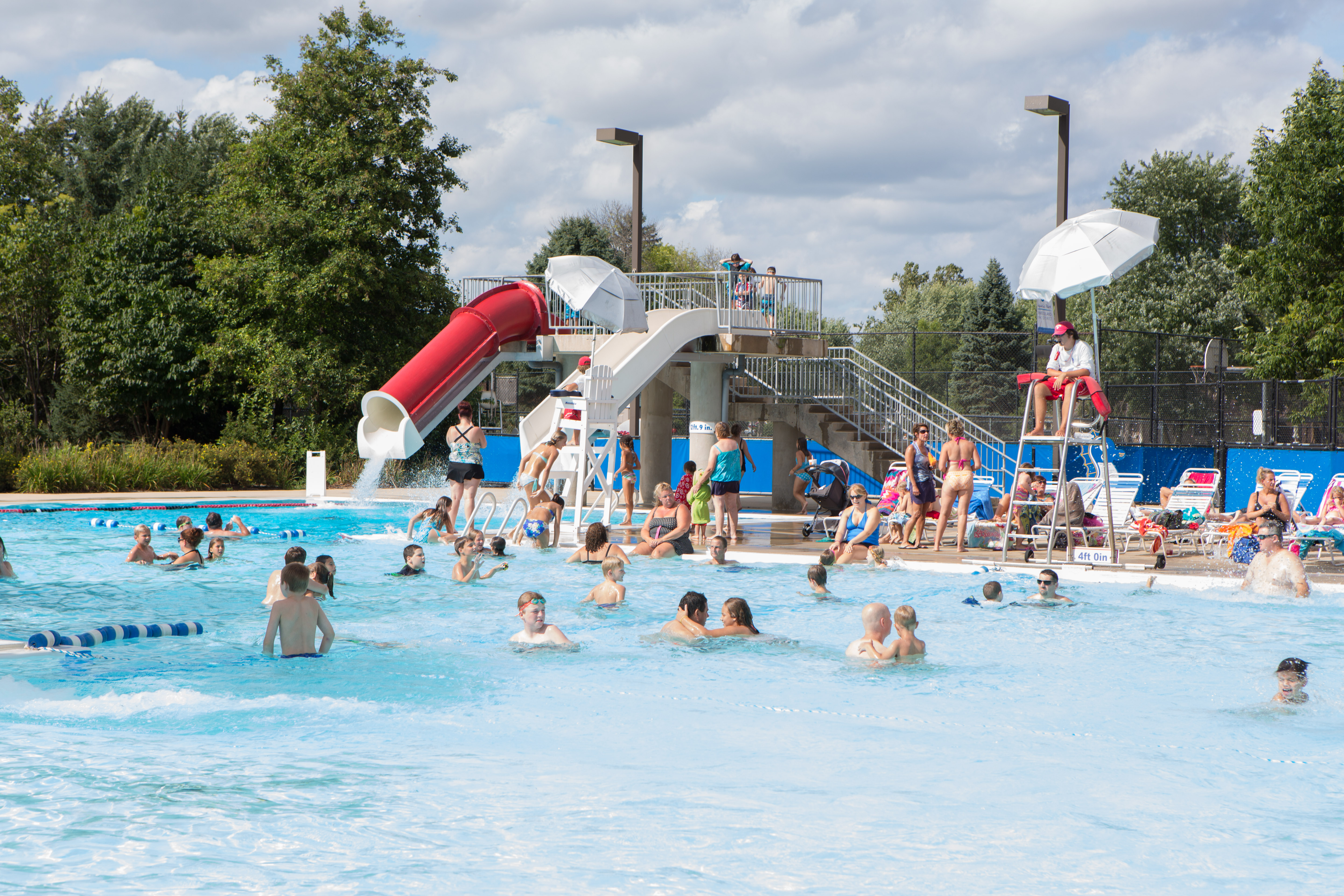 140901 pool 9387 oswegoland park district - Lake district campsites with swimming pool ...