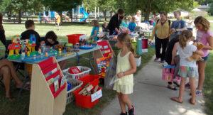 Kids Garage Sale Oswegoland Park District